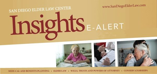 san diego elder law insights e-alerts